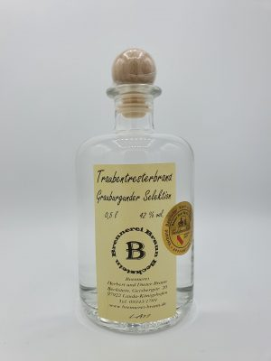 Traubentresterbrand Grauburgunder Selektion – 0,5L